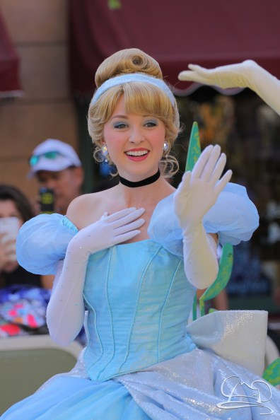 Cinderella in Mickey's Soundsational Parade.