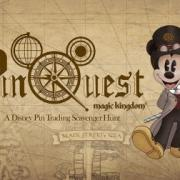 Disney's Magic Kingdom PinQuest Scavenger Hunt
