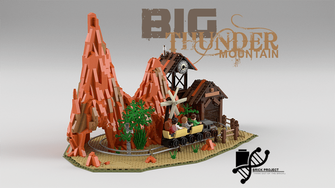 Big Thunder Mountain LEGO set
