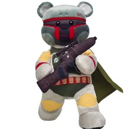 Star Wars Build a Bear Action Boba Fett Build-a-Bear