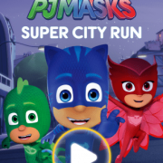 New Disney Mobile Game: PJ Masks Super City Run
