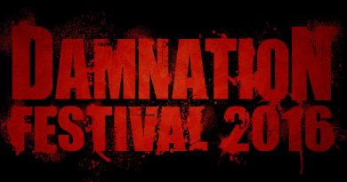 Damnation Festival 2016 Logo