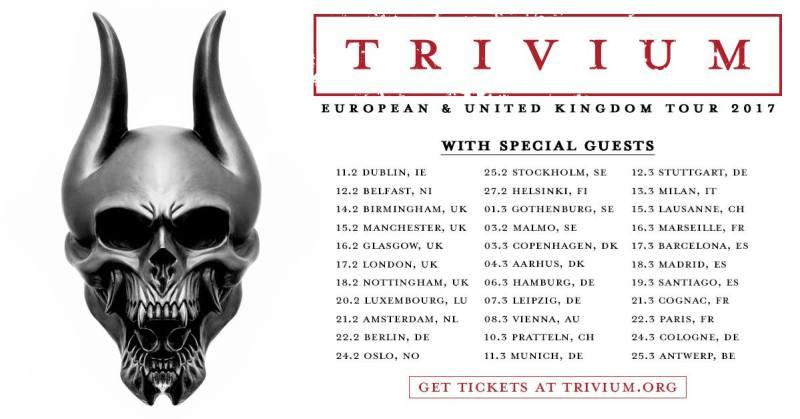 Trivium European Tour