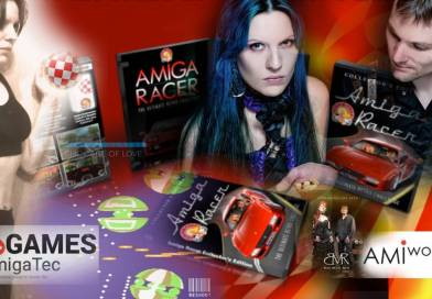 AmigaTec and AMIWorx promoting Amiga at Gamescom 2016 in Cologne, Germany