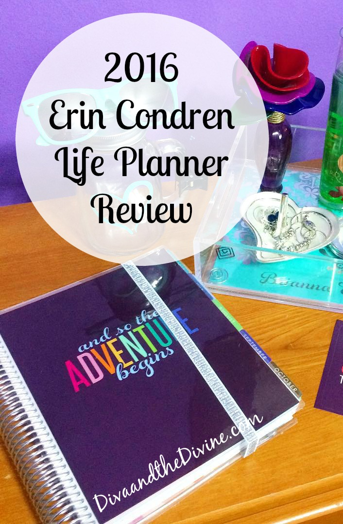 2016 Erin Condren Life Planner Review