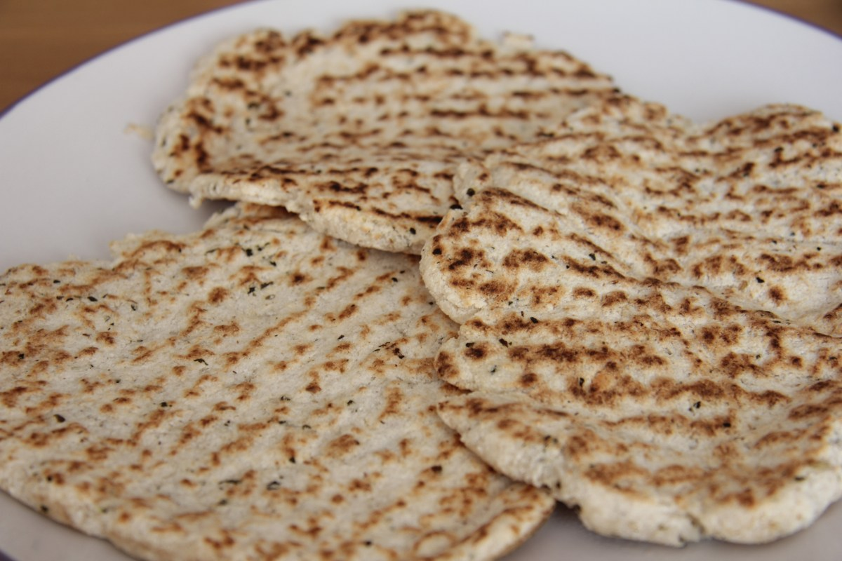 Flatbread (Coconut Flour and Psyllium)