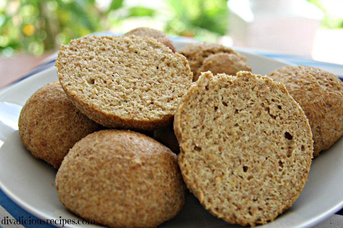 Low Carb Flaxseed & Psyllium Bread Rolls