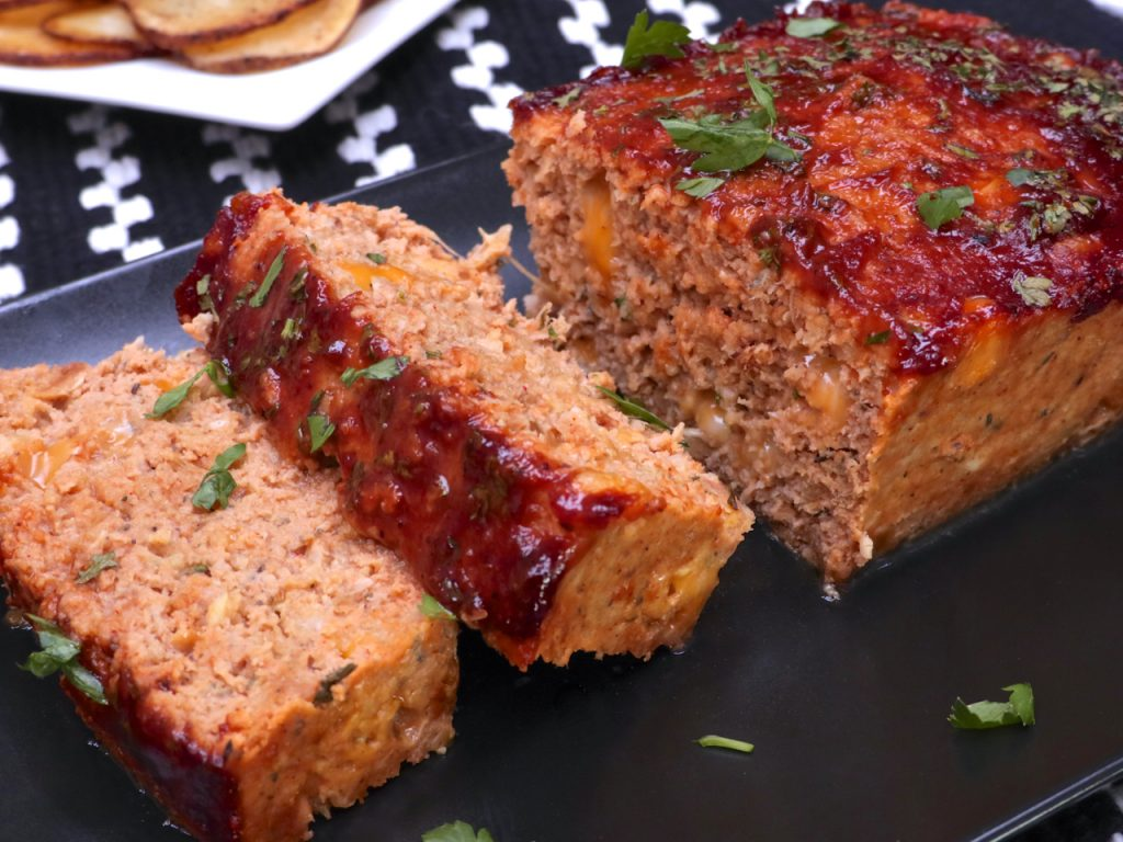 Exceptional Never Really Been A Huge Meatloaf I I Like It But Notsomething I Make This Cheesy Turkey Meatloaf Has Been Inheavy Cheesy Bbq Turkey Meatloaf Divas Can Cook nice food What To Serve With Meatloaf