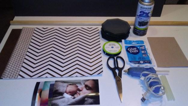 diy dollar tree mirror wall art decor craft project supplies 17