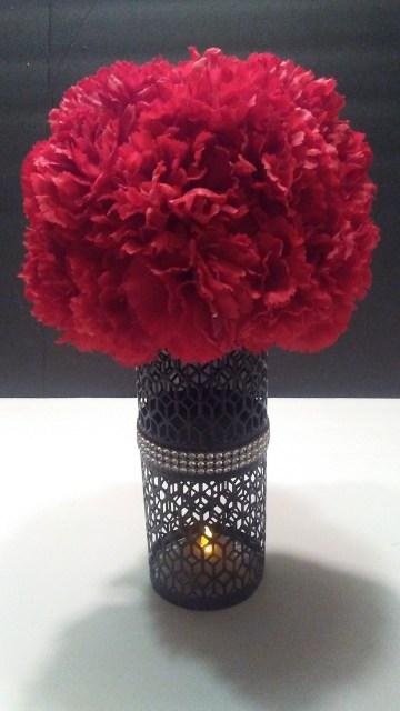 diy dollar tree flower decor arrangement centerpiece wedding craft (27)