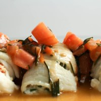 Stuffed Dover Sole