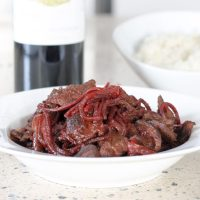 Beet Smothered Steak