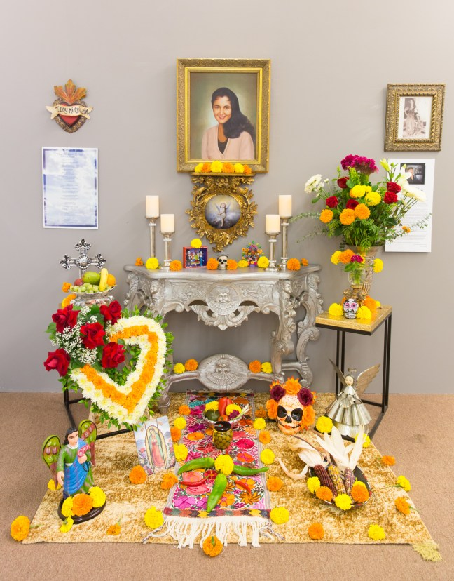 Ginette Rondeau's altar to her mother - Photo: Jack Burke