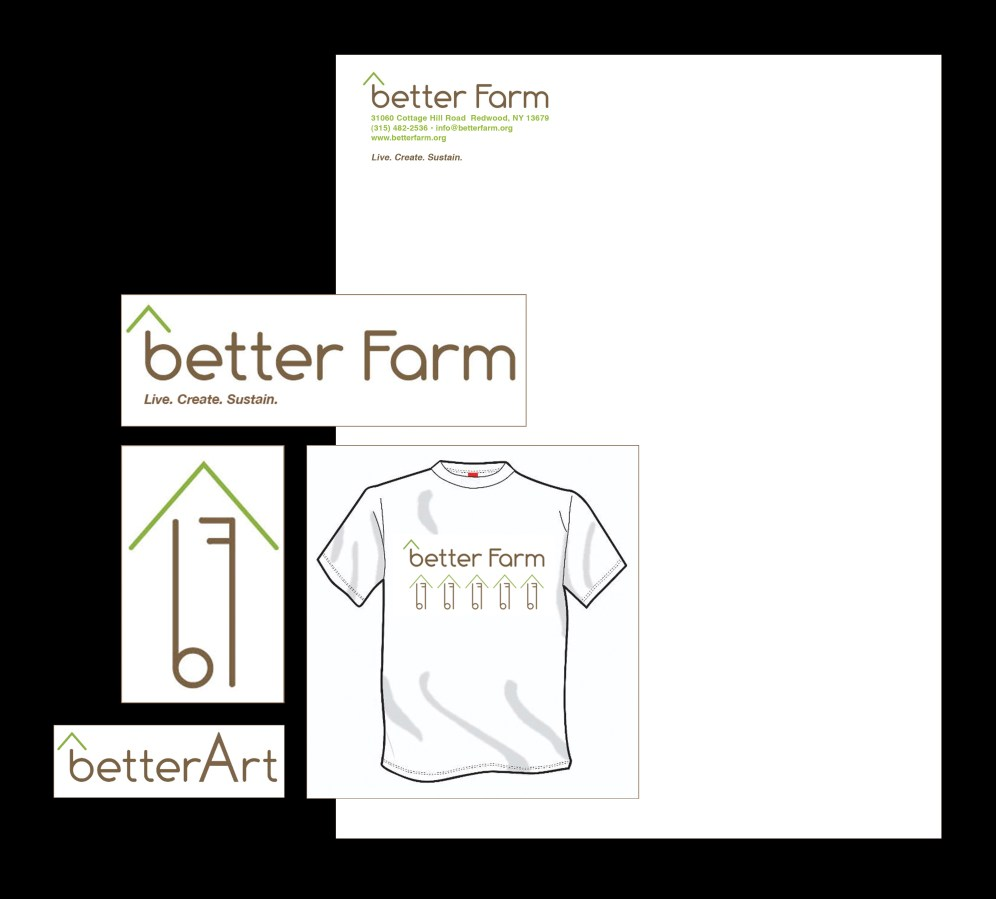 Logo and Collateral for Better Farm