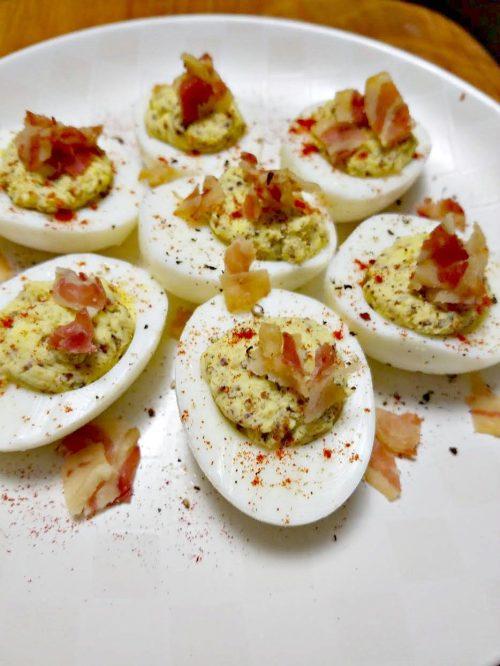 Medium Of Spicy Deviled Eggs