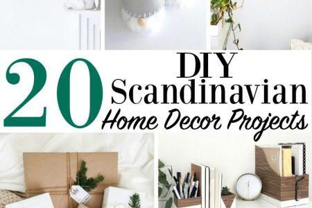20 diy scandinavian home decor projects