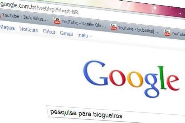 google pesquisa para blogueiros