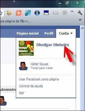 fan page fas pagina facebook URL