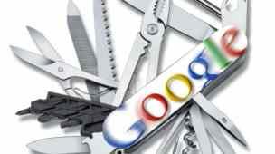 canivete suiço google contas