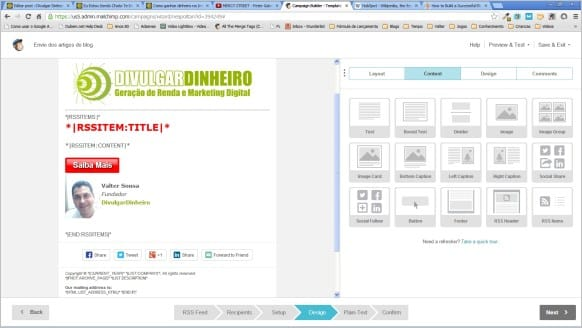 campanha rss email marketing