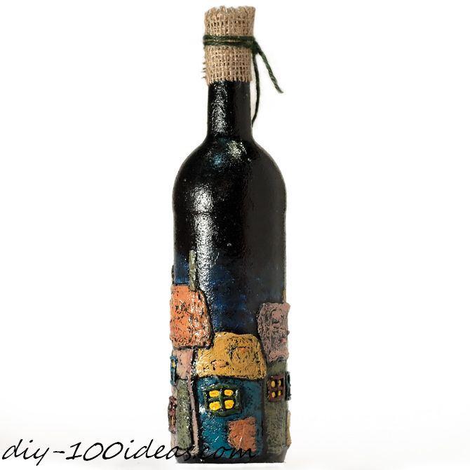 6 wine bottle decoration ideas