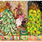 Diy candy christmas tree
