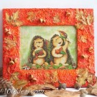 Fall Frame Decor