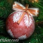 Ball Christmas Ornament Crafts