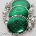 DIY Resin Glitter Bracelet Tutorial