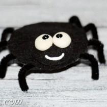 felt spider craft (1)