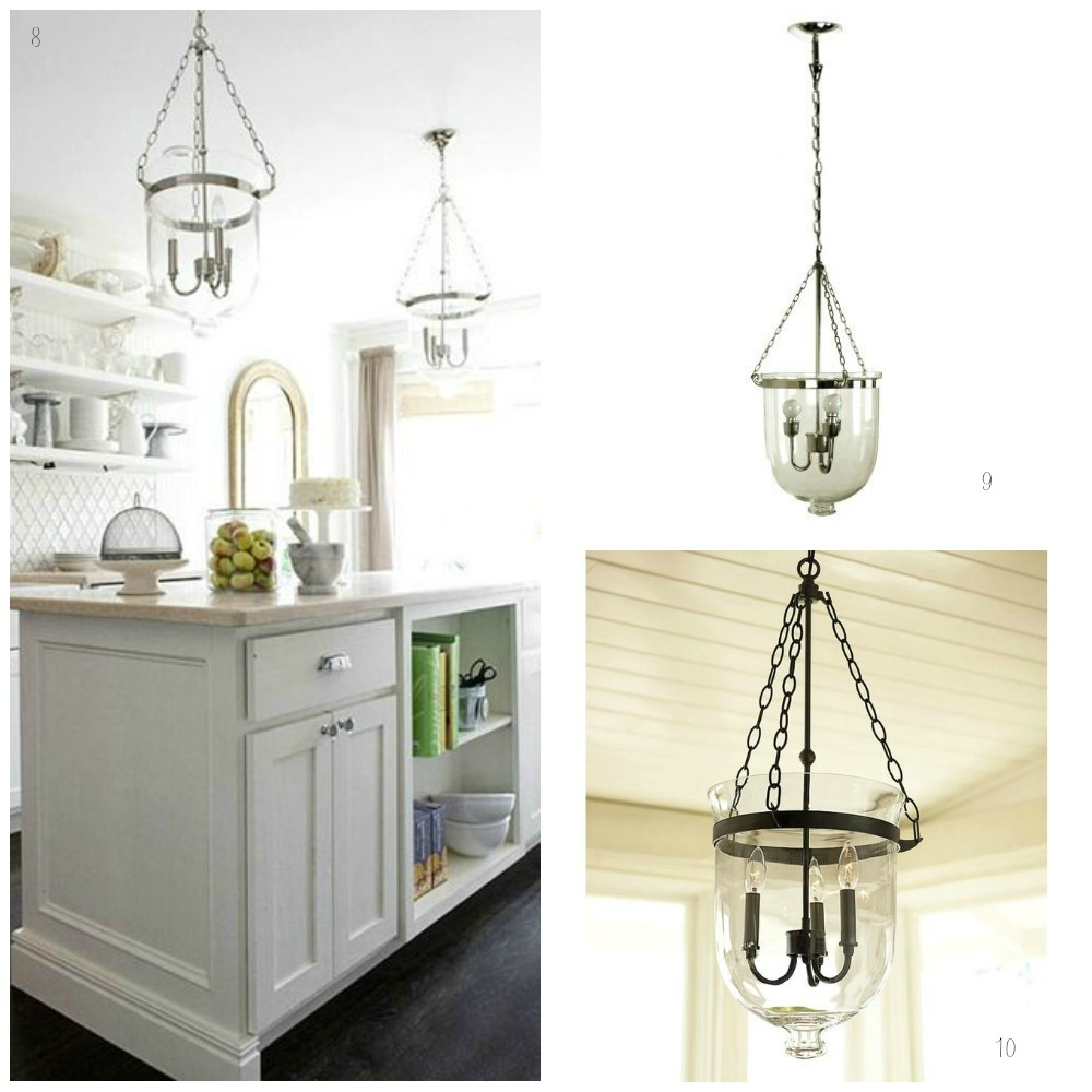 have you got glass pendant lights in your kitchen if you do we d