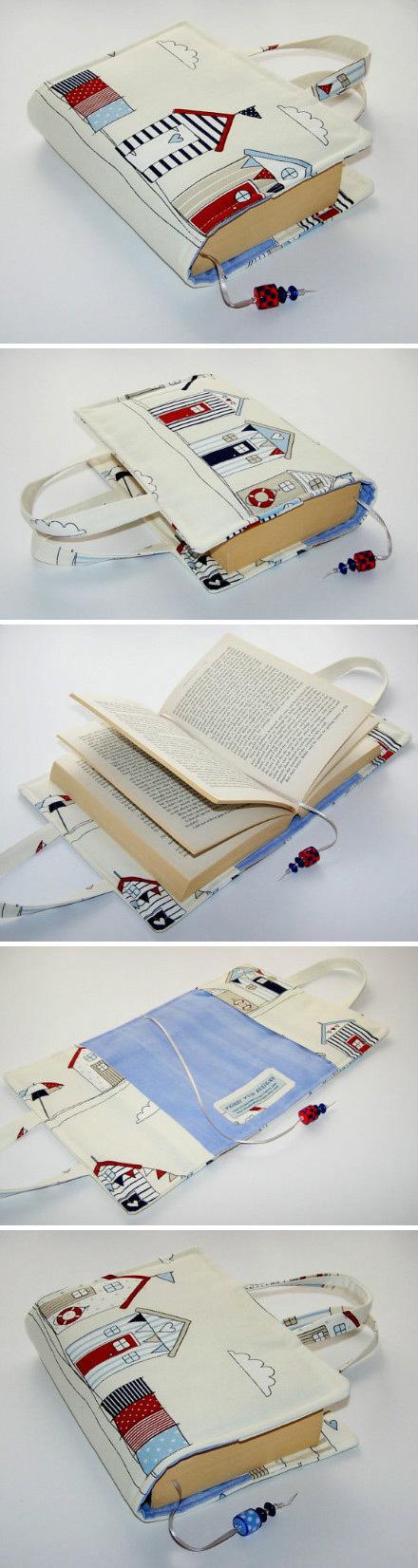 Handmade Book Cover Purse