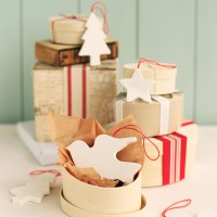 Scandinavian-Inspired Clay Ornaments