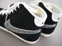 DIY Crystal Studded Sneakers