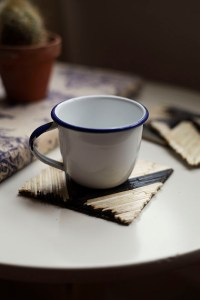 DIY Matchstick Coasters | From Free People Blog