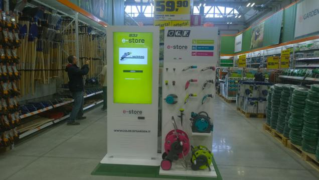 E-store a OBI Roma Casilina