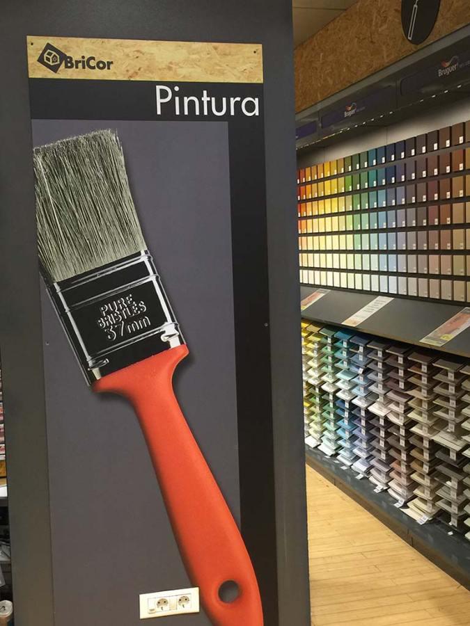 Reparto pittura