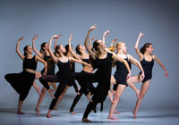 dancers representing visual and performaing arts majors