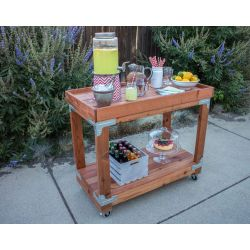 Small Crop Of Outdoor Bar Cart