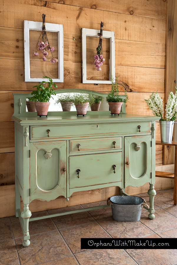 Sage Sideboard Makeover Diy Furniture Makeovers