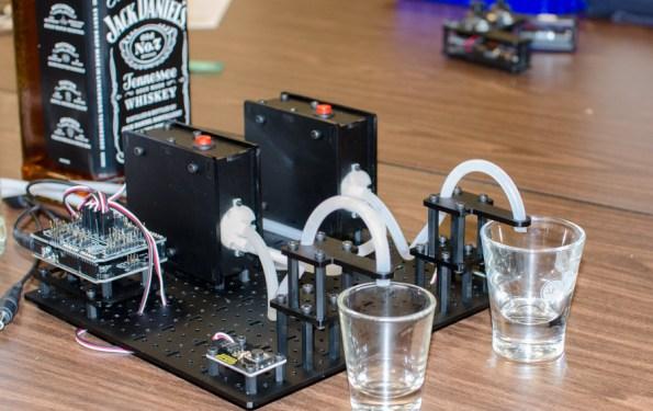 arduino powered shotbot