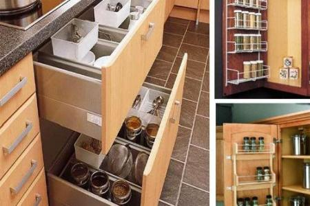 diy storahe ideas for kitchen