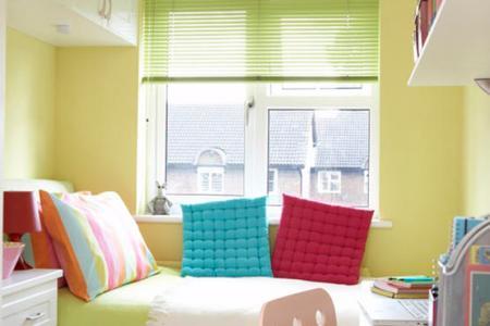 modern small bedroom decorating