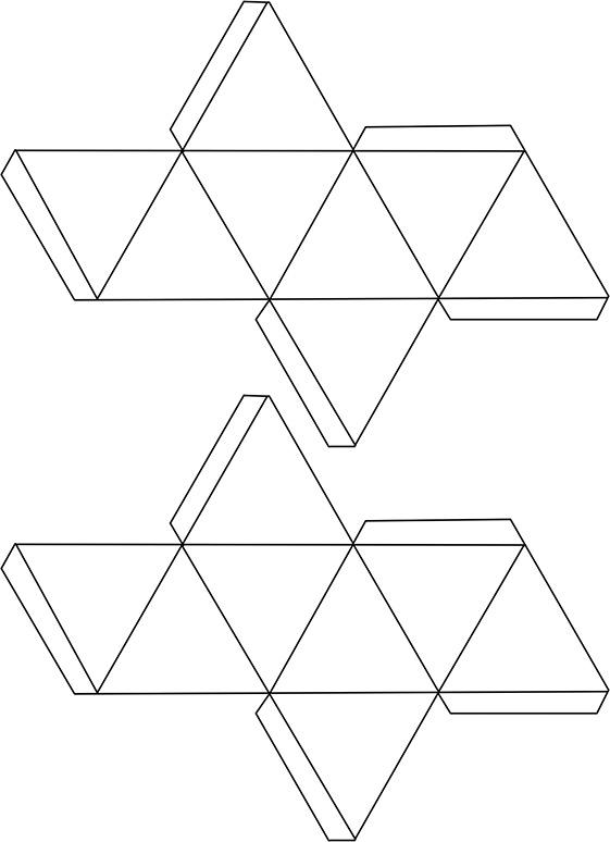 foldable gem templates