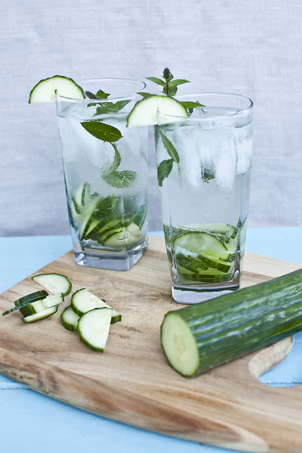 cucumber gin fizz cocktail recipe