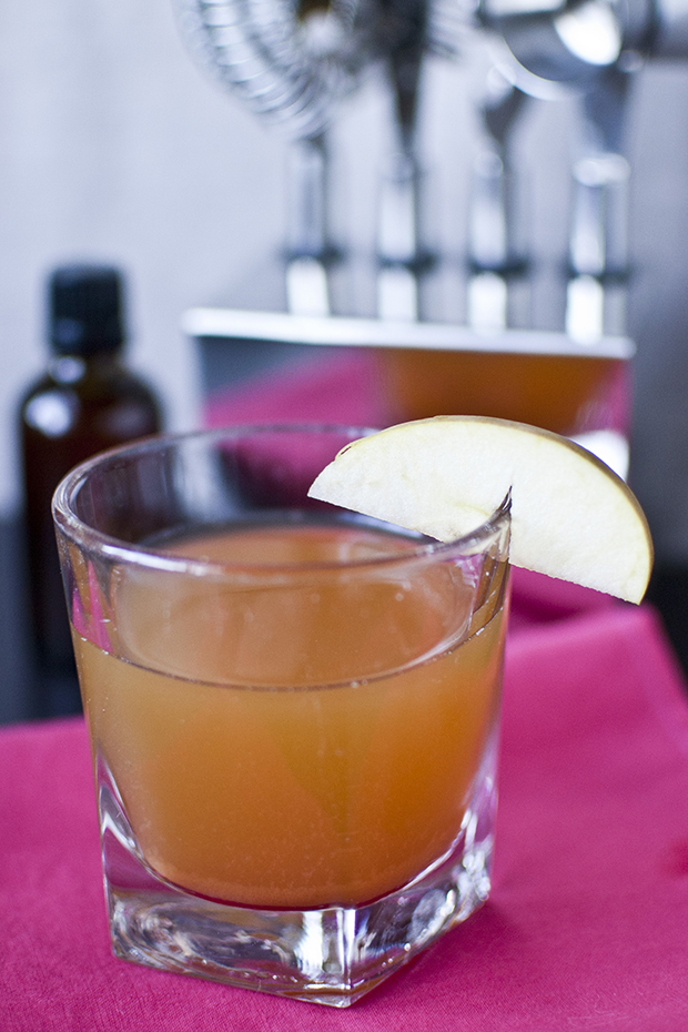 spiked ginger cider recipe