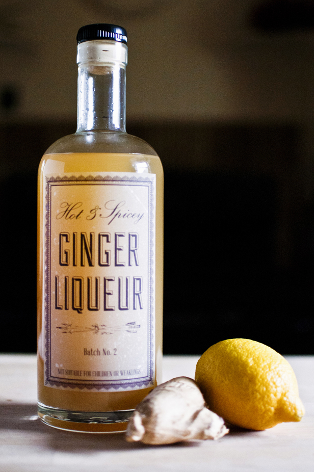 DIY Ginger Liqueur Recipe - DIY in PDX