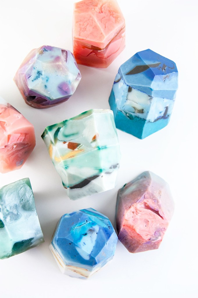 DIY soap rocks