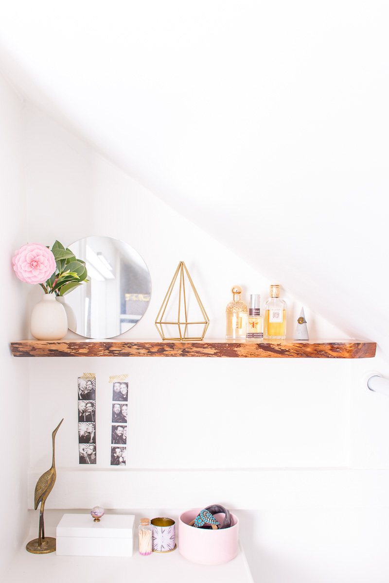 How to hang solid wood floating shelves amipublicfo Image collections