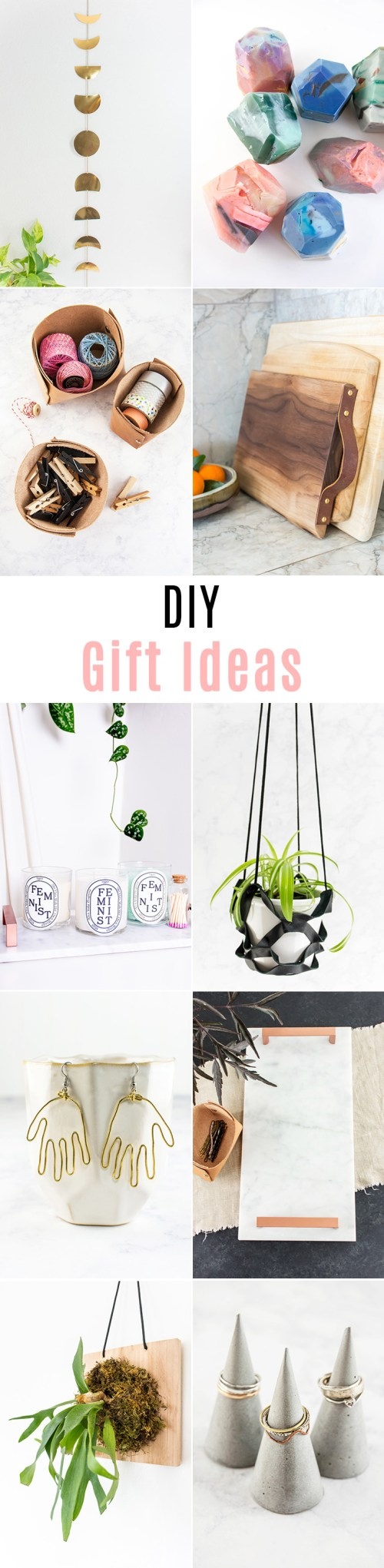Want to make someone special a DIY gift? Here are 10 gifts you can make yourself.